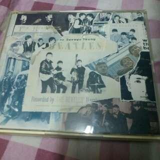 披頭四雙cd連册