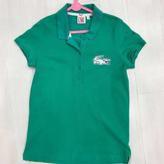 Lacoste Live Green Polo Shirt