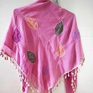 Jilbab pink