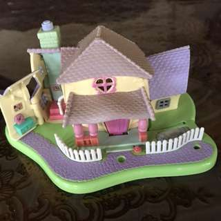 (Repriced)Polly pocket Minnie Mouse surprise party