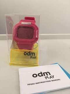 ODM play電子錶(粉紅色)