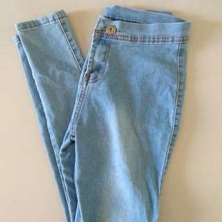 Highwaisted jeans