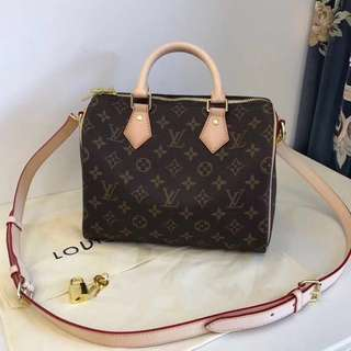 Lv Speedy 4 Sizes (Personalized Your Name Available)(Full Packaging)