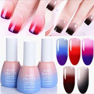Born pretty thermal gel nail polish