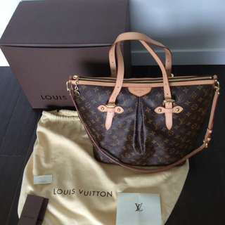 Auth LV Louis Vuitton Palermo GM Monogram