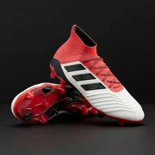 Adidas Predator 18.1 White Core Black Real Coral Soccer