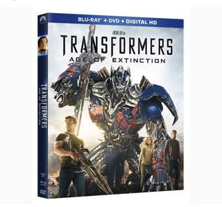 Transformers Age Of Extinction (Blu Ray + Dvd + Digital Hd)
