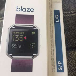 REPRICED Fitbit Blaze with strap
