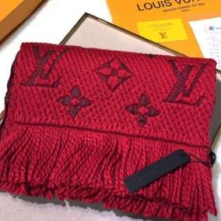 Dual Color LV scarf