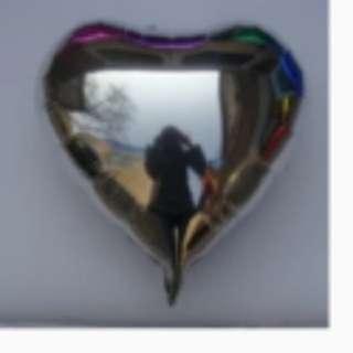 I8inch foil heart balloon *ready stock