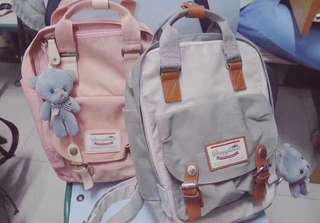 Doughnut backpack( multicolour ) large size 640 small size 635