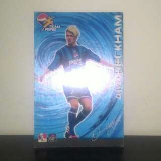 FOOTBALL CARD - David Beckham