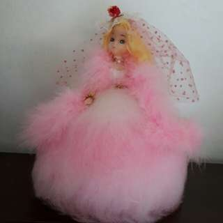 vintage knitted doll