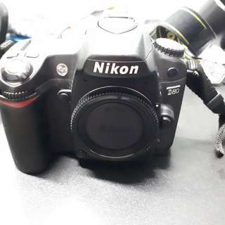 Nikon D80 DSLR camera body only