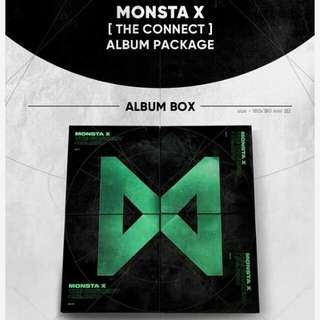 MONSTA X ALBUM - THE CONNECT : DEJAVU