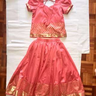 Customed party dress / saree/ Punjab