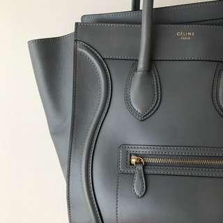 大象灰🐘 Celine Mini Shoulder Luggage Bag
