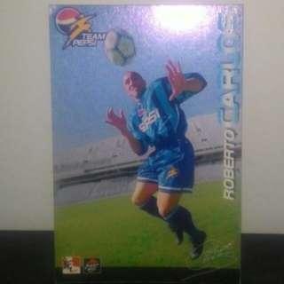 FOOTBALL CARD - Roberto Carlos