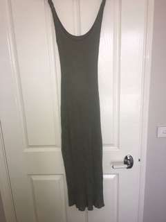 Kookai Maxi Ribbed Dress Size 1