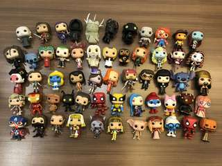 Funko Pop Clearance - DELIVERY ONLY