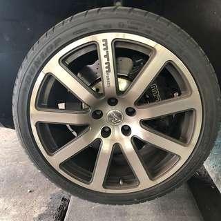 Audi S4 S5 A4 A5 MTM BBK Brakes