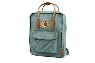 Fjallraven backpack version2 leather (multicolour) medium size