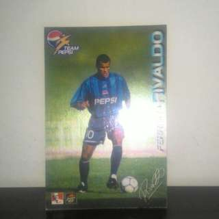 FOOTBALL CARD - Rivaldo