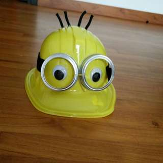 Minion hat self made - crazy hat day