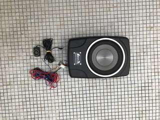 8 inch active subwoofer by Blitz audio with remote