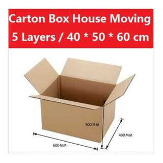 Carton Boxes - for storage or house moving