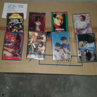 CASSETTE have All 243pcs