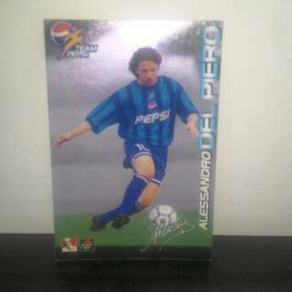 FOOTBALL CARD - Del Piero