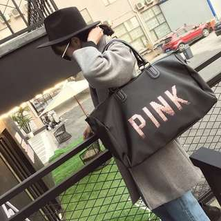 New cabin handbag duffle bag luggage short trip tote shopping sling shoulder gym (sweater winter coat scarf hat)