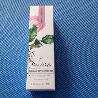 Rose Water Face & Body Refresher
