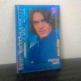 FOOTBALL CARD - Paolo Maldini