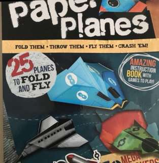 Paper Planes Instruction Book