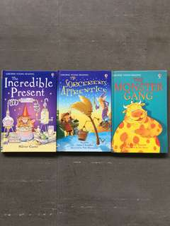 Usborne Young Reading books