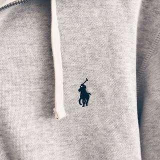 Ralph Lauren Logo Zip Up Hoodie
