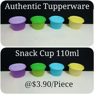 Authentic Tupperware  Snack Cup 110ml  《Retail Price S$3.90/Piece》 snack