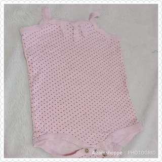 Cotton On Sleeveless Onesies (0-3 months)
