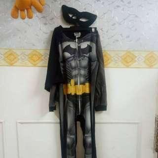 Batman sleepsuit 6-7 tahun
