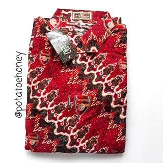 Kaos batik Arsenal