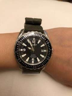 AM Stainless Steel diving watch 自動潛水鋼錶