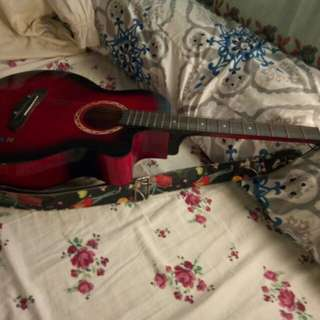 Cowboy acoustic guitar