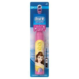 Oral-B Kids Battery Power Toothbrush, Disney Princess, Extra Soft