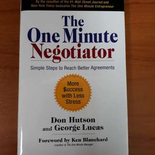 The One Minute Negotiator ❤ think win-win
