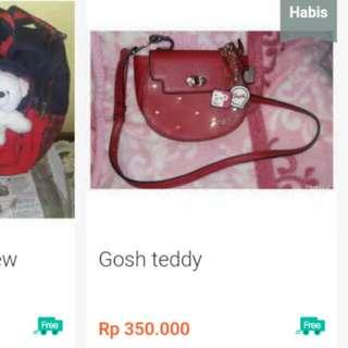 Gosh teddy