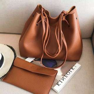 Korean 2in1 Pouch and Shoulder Bag