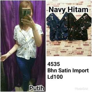 Blouse 4535 Satin import ld100