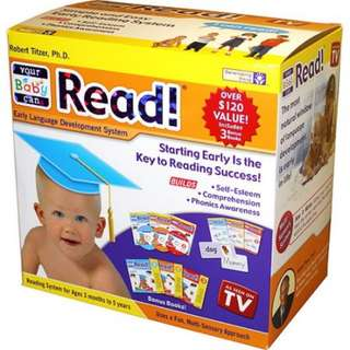 Baby can read